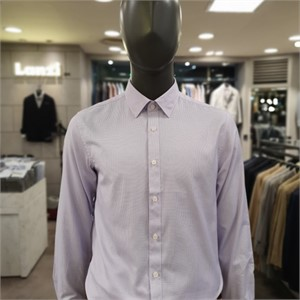 란찌 NC02 베이직 잔체크 셔츠 LAYS19WG271