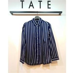 TATE NC02 남성 코튼 세미오버핏 셔츠 KA9F7-MRC040