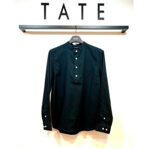 TATE NC02 레귤러핏 코튼 헨리넥 셔츠 KA9F7-MRC020