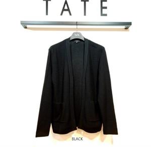 TATE NC02 남성 오픈형 가디건 KA9F7-MSC010