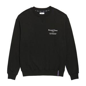 NEW EDITION LOGO SWEAT-SHIRTS BLACK