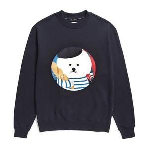 PARIS DOG PATCH SWEAT-SHIRTS 2019FW NAVY