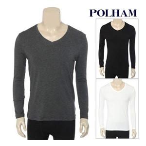 폴햄 NC02 남성발열내의브이넥 PHZ4US1510