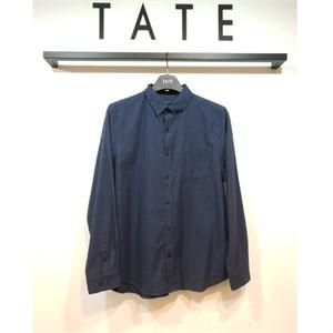 TATE NC02 남성 코튼 캐주얼 긴팔 셔츠 KA9W0-MRC010