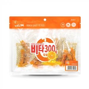 대용량간식 비타300강아지간식 300g 고구마사사미 X 5봉