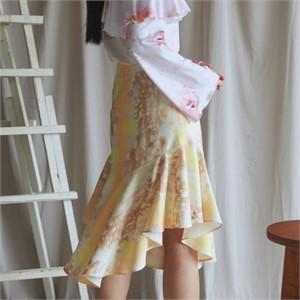 [블리다] bambi flounce skirt