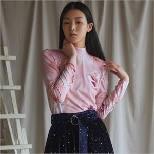 [블리다] rosie highneck blouse