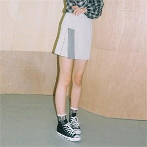 [느와] Dual Skirt