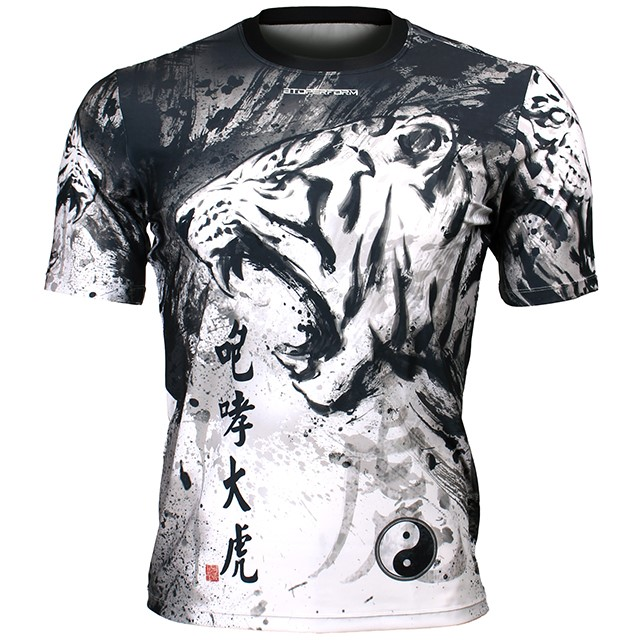 FR-338 포효대호 ROARING TIGER 풀그래픽 루즈핏 반팔 티셔츠