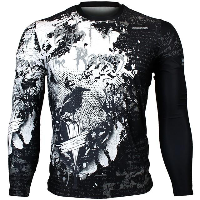 FR-157 나이트 오브 더 레이븐 NIGHT OF THE RAVEN 풀그래픽 루즈핏 긴팔 티셔츠