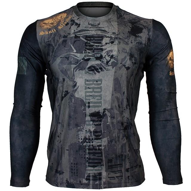FR-156 스컬 브레이커 SKULL BREAKER 풀그래픽 루즈핏 긴팔 티셔츠