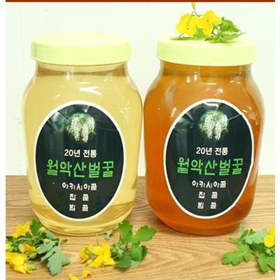 [푸드큐브] 산지직송 충북 제천 월악산 아카시아 꿀 2.4kg