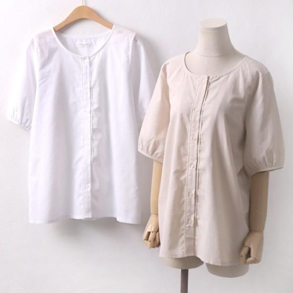 로모 심플 블라우스 빅사이즈 미시 여성 큰옷 의류
