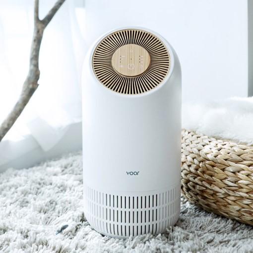 보아르 휘겔리 공기청정 PM2.5 필터전용 화이트/우드