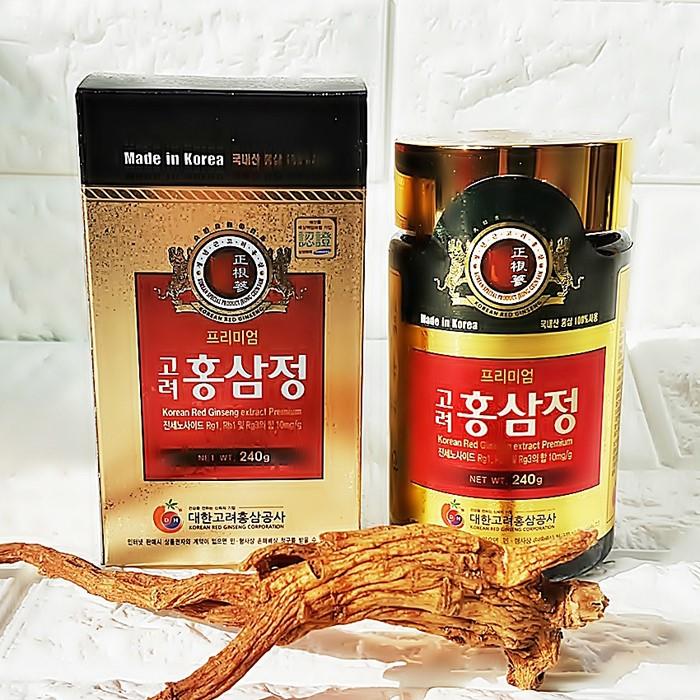 홍삼정240g 프리미엄 농축액100% 진세노사이드10mg/g