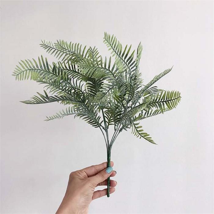 [피우다 (PIUDA)] 그라데이션 미모사 조화 부쉬(조화꽃, 인테리어용 꽃, 조화 꽃장식)