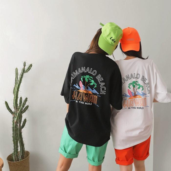 [Anonymous] 와이키키 티셔츠 (남여공용)