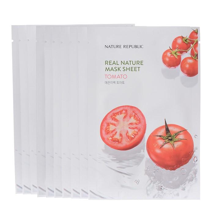 네이처리퍼블릭 NC02 토마토 마스크(10장+10장) -