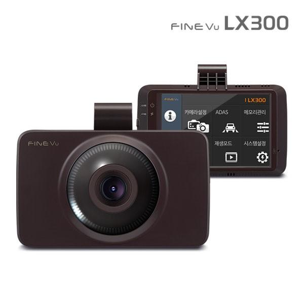 파인뷰 3.5인치 풀터치LCD 2채널(FHD+HD) 블랙박스 16G