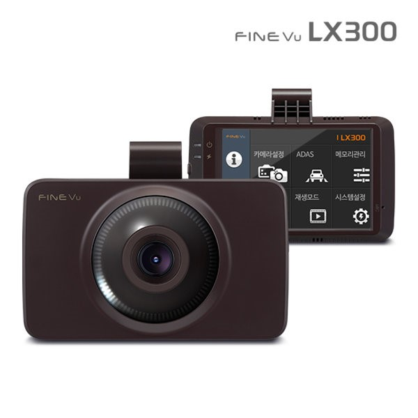 파인뷰 3.5인치 풀터치LCD 2채널(FHD+HD) 블랙박스 32G