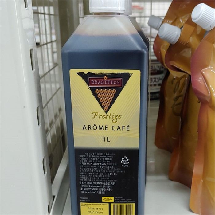커피 플레이버 액기스 1L 1개