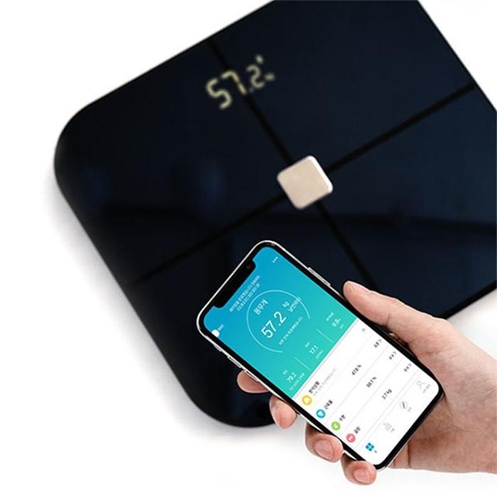 [소풍미소] (홈트 용품 기획전)가정용 인바디 기계 체성분 검사 체지방률 인바디 측정기 스마트 디지털 체중계