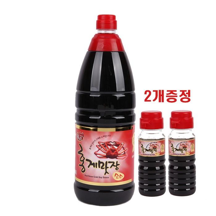 [이웃가게]홍일식품 홍게맛장소스1800ml 홍게간장 맛간장