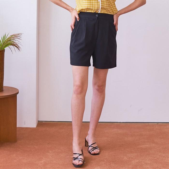 [엽페]  SOFT SHORT PANTS_BLACK