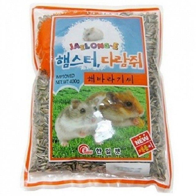 재롱이 햄스터 다람쥐 해바라기씨_400g 해바라기...