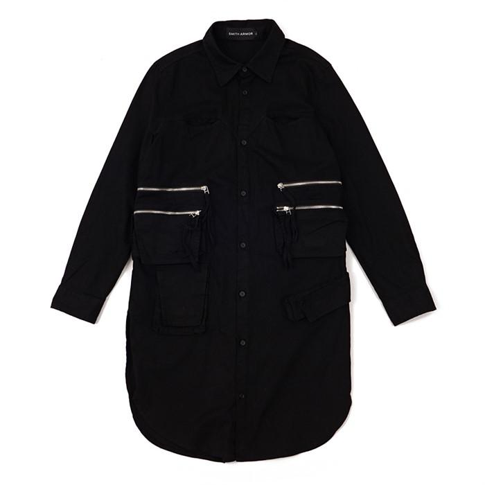 [스미스 아머] 지퍼 셔츠 재킷