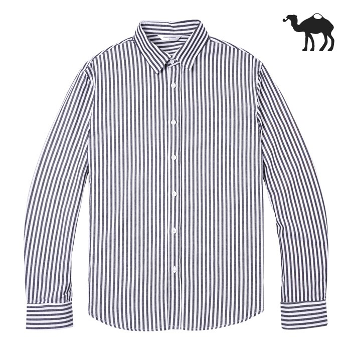 [Jbans]BC모디 스트라이프 셔츠 (C1802-ST927_BK)