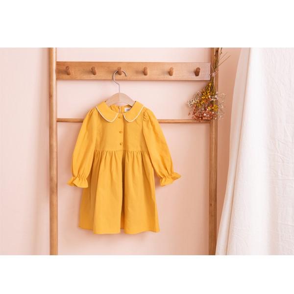 [베베루티] 데일리 원피스(Yellow)  유아복/아기옷/아기/아동복/유아동복/유아의류/유아/아동/원피스