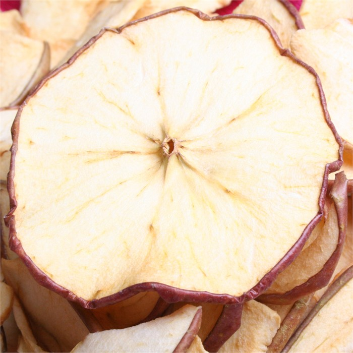 [건과][100g] 사과 원형컷 (약17-33입) - 국내생산, 열풍건조, 사과 100%