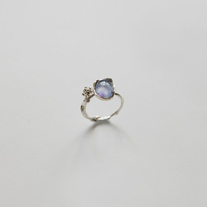 [비베] Dewy Branch Ring  (Silver)