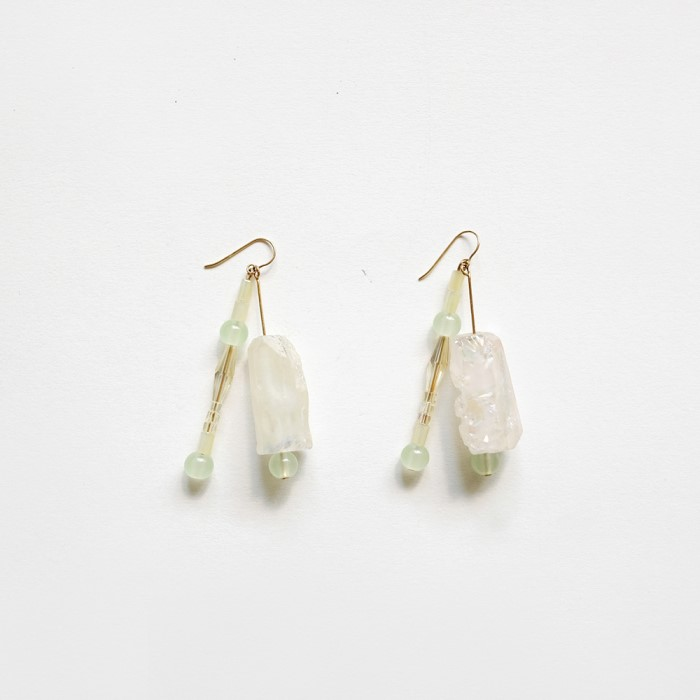 [비베] Glowing Grass Earring