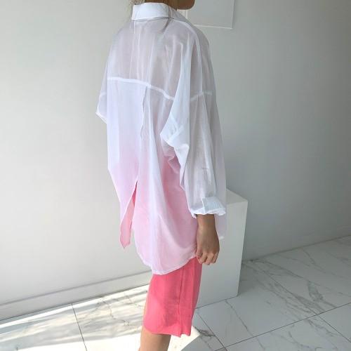 [입다] 썸머 루즈 크로스 백트임 셔츠 4color