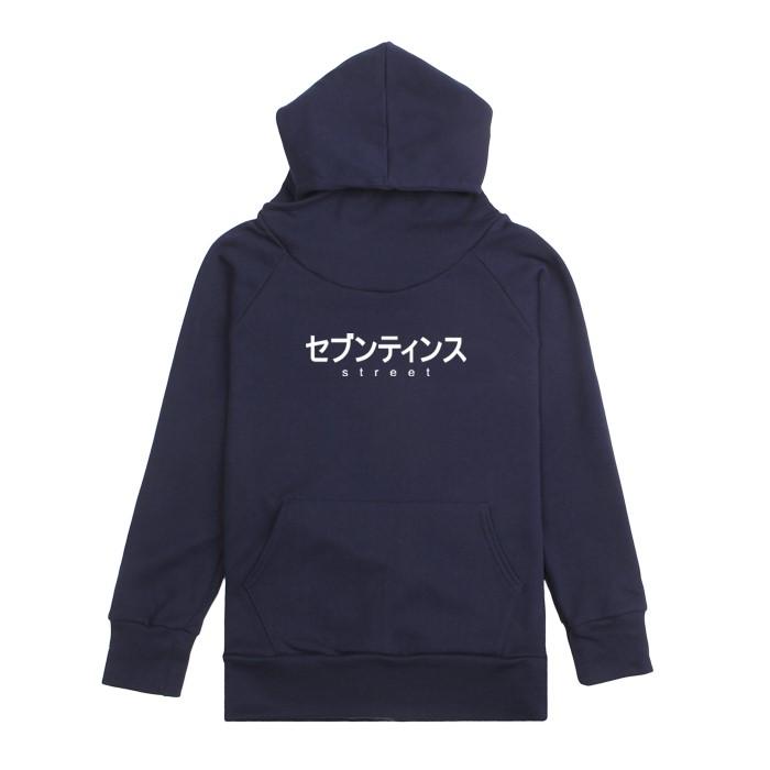 [SEVENTEENTH] JAPAN FONT WARMER HOODY - NAVY