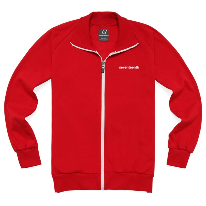 [SEVENTEENTH] BASIC TRACK TOP - RED