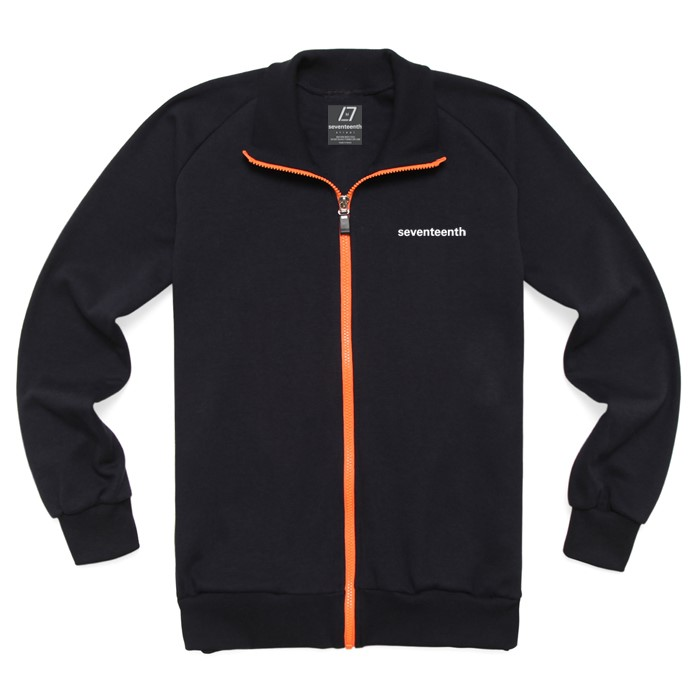 [SEVENTEENTH] BASIC TRACK TOP - NAVY