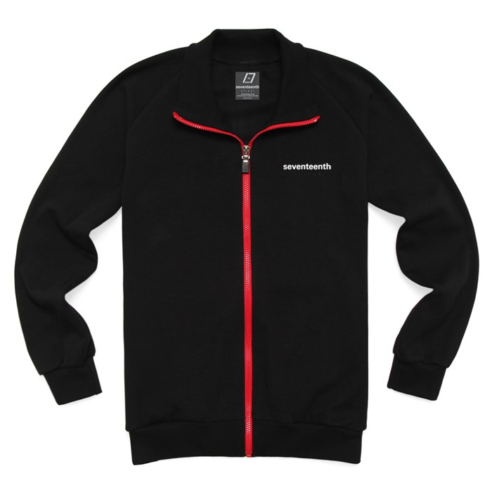 [SEVENTEENTH] BASIC TRACK TOP - BLACK