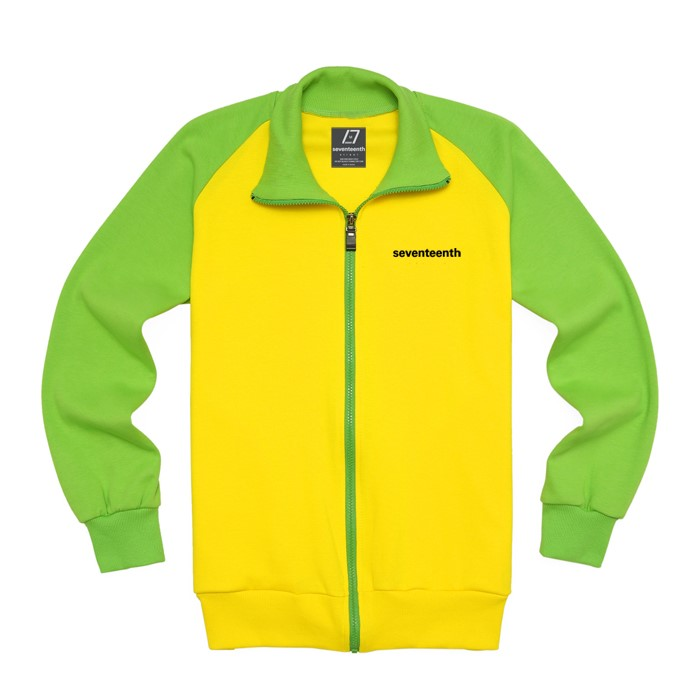 [SEVENTEENTH] BASIC RAG TRACK TOP - YELLOW