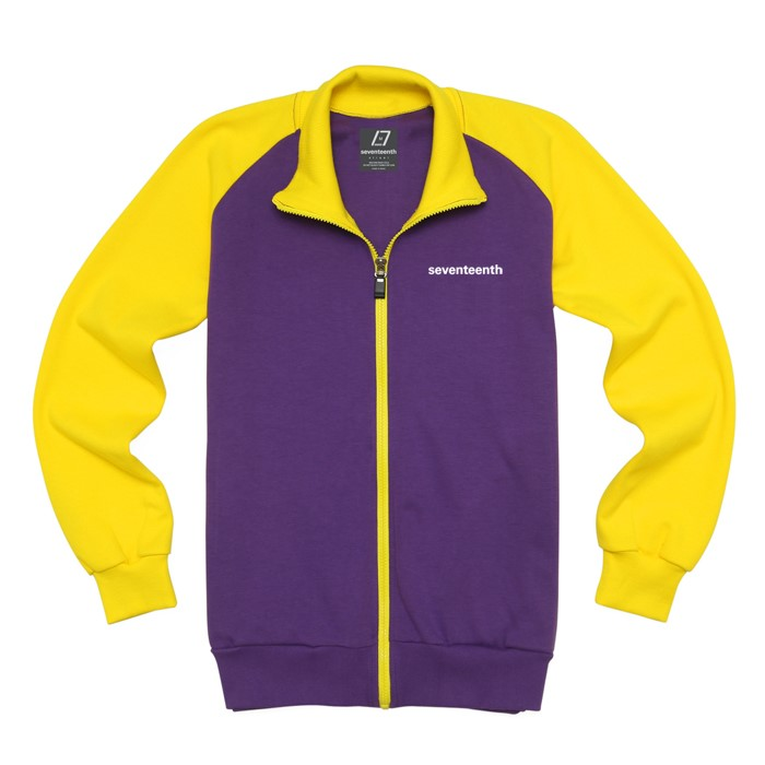 [SEVENTEENTH] BASIC RAG TRACK TOP - PURPLE