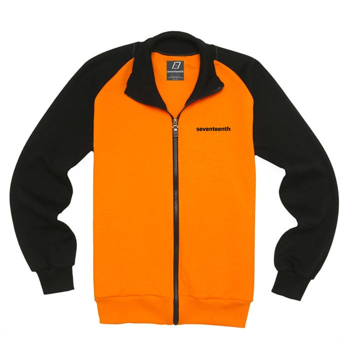 [SEVENTEENTH] BASIC RAG TRACK TOP - ORANGE