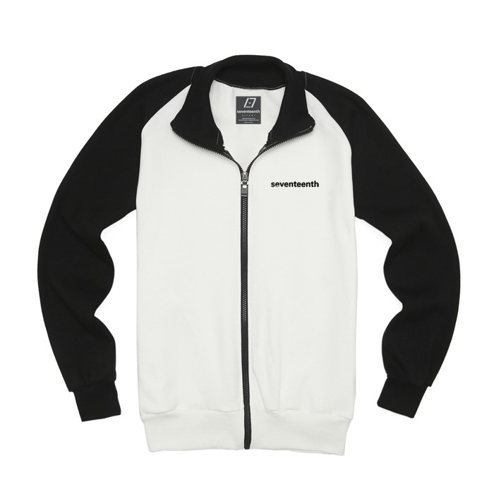 [SEVENTEENTH] BASIC RAG TRACK TOP - WHITE