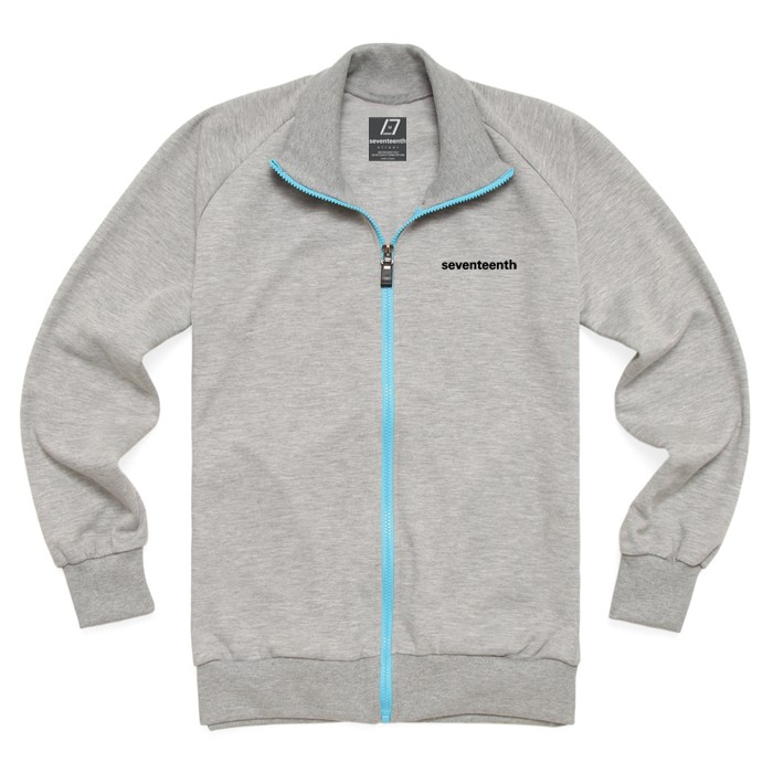 [SEVENTEENTH] BASIC TRACK TOP - GRAY