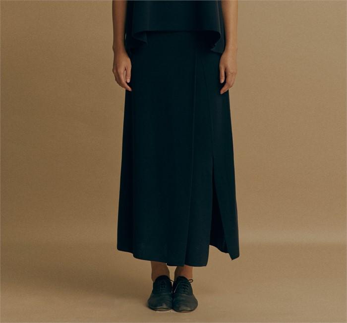 [모스카] knit long skirt