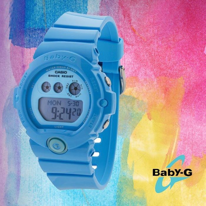 Baby-G 베이비 지BG-6902-2BDR여성용 우레탄 시계