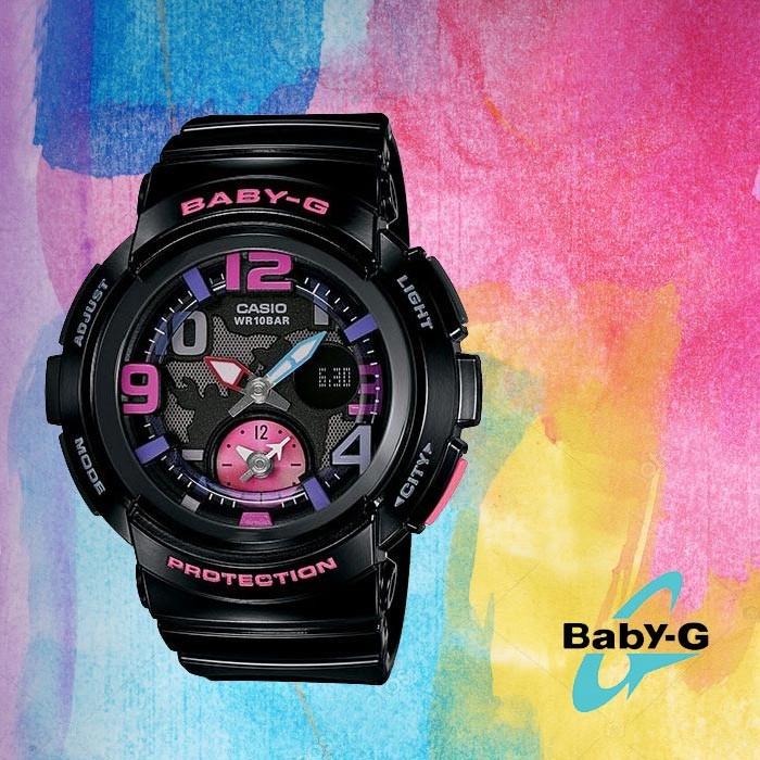 Baby-G 베이비 지BGA-190-1BD여성용 우레탄 시계
