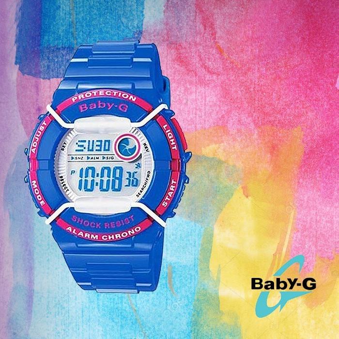 Baby-G 베이비 지BGD-120P-2DR여성용 우레탄 시계