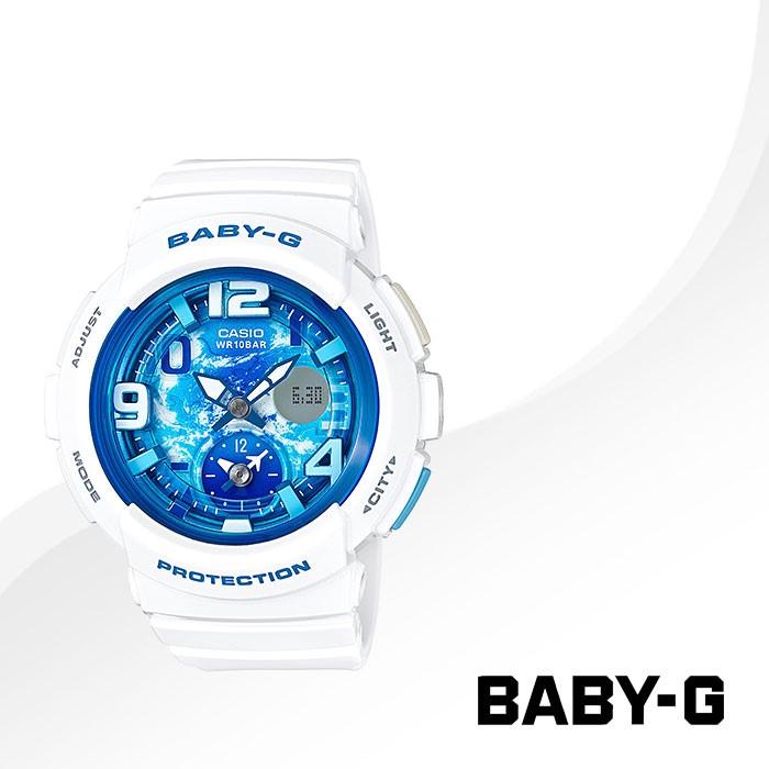 BABY-G 베이비지 BGA-190GL-7B 여성 우레탄시계